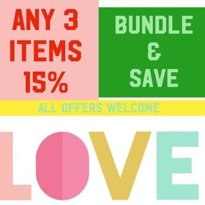 Other - Bundle & Save: Open To Offers